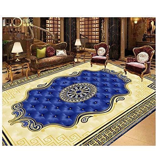 Mrlwy Fototapete nach Mass Europäische Teppich Tapete für Badezimmer Decke Tapete für Küche-400X280cm