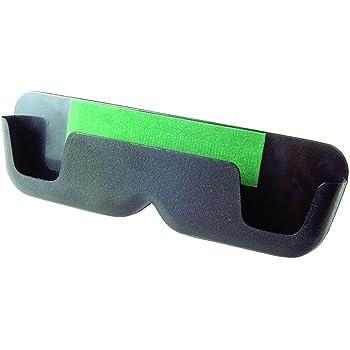 MOSISO Custodia Protettiva per Car Visor Occhiali,Universale Automobilistico ABS Occhiali Supporto Custodia per Occhiali con Chiusura Magnetica e Pinza Doppia,Spazio Grigio