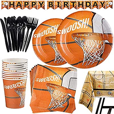 basketball party decorations