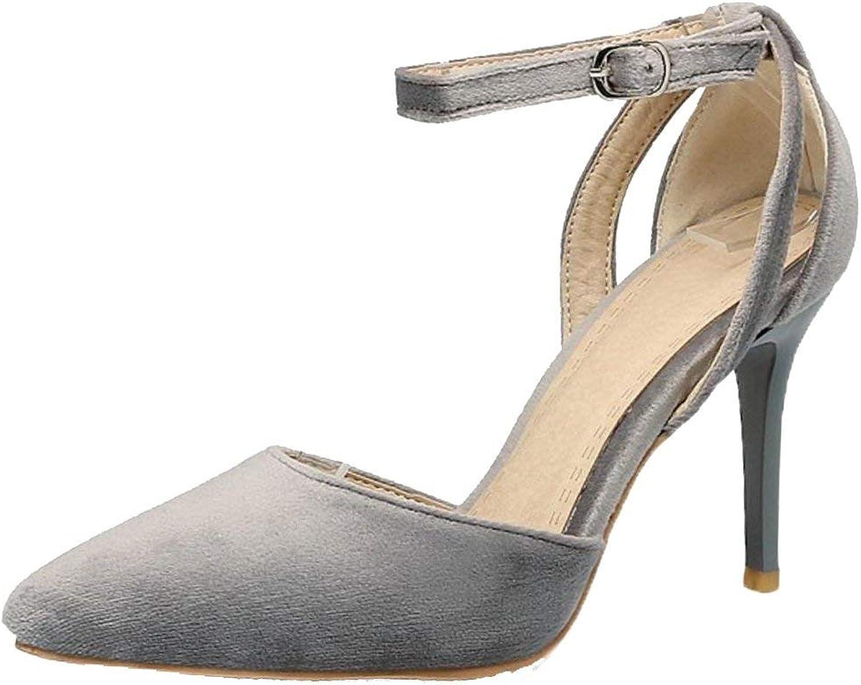 Unm Women D'Orsay Heels Pumps shoes Straps