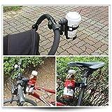 HMYDZ Bike Cup del Supporto della Bevanda della cremagliera della Bottiglia Universale 360 Gradi di Rotazione Passeggino Biciclette Sedia a rotelle Montato Staffa