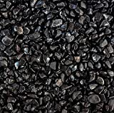 Gravilla decorativa negra 5 kg granulometría 3-3 mm acuario dulce