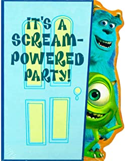 monsters inc party invitations printable