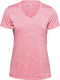 Under Armour Women's Tech V-Neck Twist Short-Sleeve T-Shirt