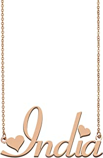 Best my name necklace india Reviews