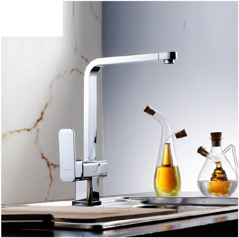 Flash Kitchen faucet Single hole faucet hot and cold KITCHEN kitchen sink faucet
