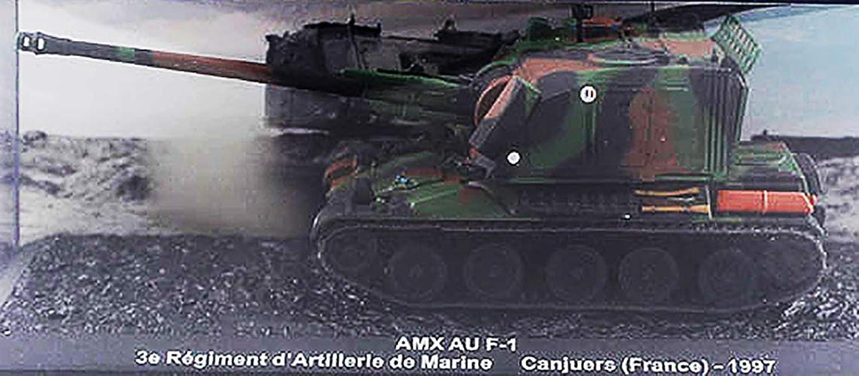 AMX AU F1 3e Regiment d Artillerie de Marine Canjuers France 1 72 DIECAST Model Tank