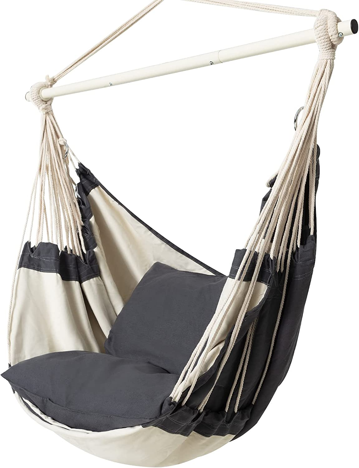 Fundouns Hanging Hammock Chair Charlotte Mall Large Swing Financial sales sale Sitting Re and