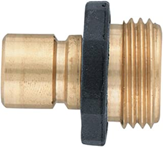 5 Pack - Orbit Brass Male Garden Hose Quick Connect Fitting for fast disconnect - 91001