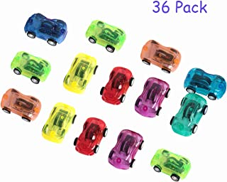 SBYURE 36 Pack Mini Pull Back and Let Go Fast Racing Car - 3 Dozen - Assorted Colors Racer Vehicle for Party Favor, Birthday Theme, Goodie Bag Fillers,2 Inch