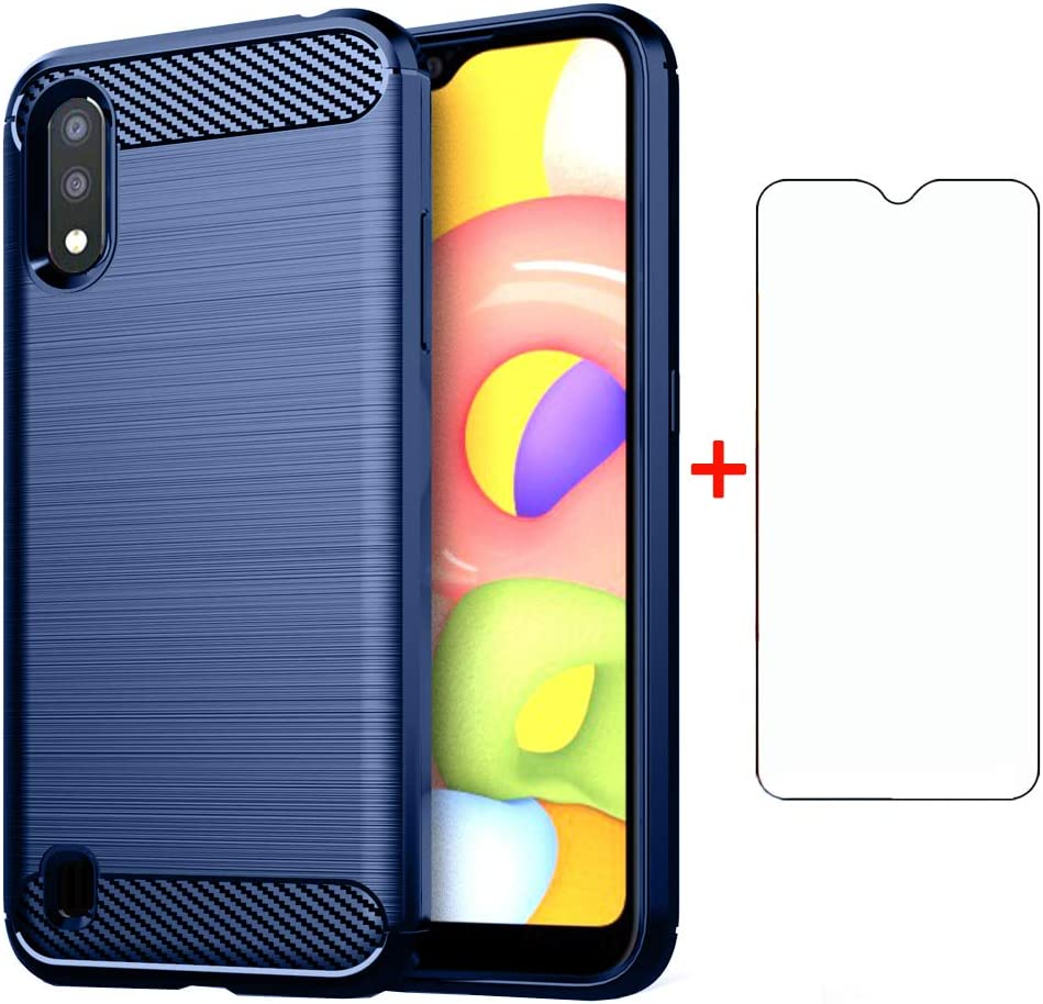 Phone Case for Samsung 2021 new Galaxy A01 Max 67% OFF Screen with Glass Pro Tempered