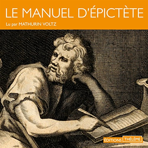 Le manuel d'Épictète audiobook cover art