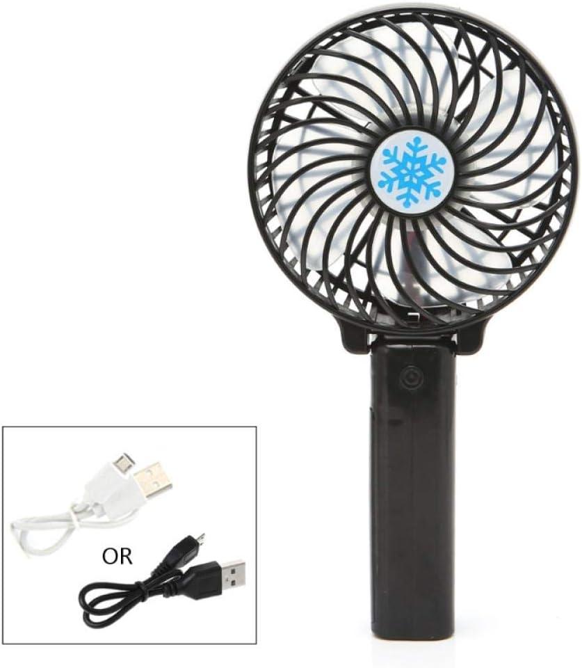 Foldable Handheld Mini Fan USB Max 76% OFF Operat Rechargeable Battery Jacksonville Mall Power