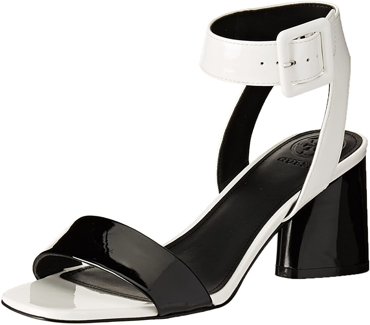 GUESS Womens Saloni Open Toe Casual Ankle Strap Sandals