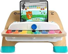 کودک اینشتین سحر و جادو لمسی پیانو چوبی اسباب بازی اسباب بازی کودک نو پا اسباب بازی، قرون 12 ماه و بالاتر