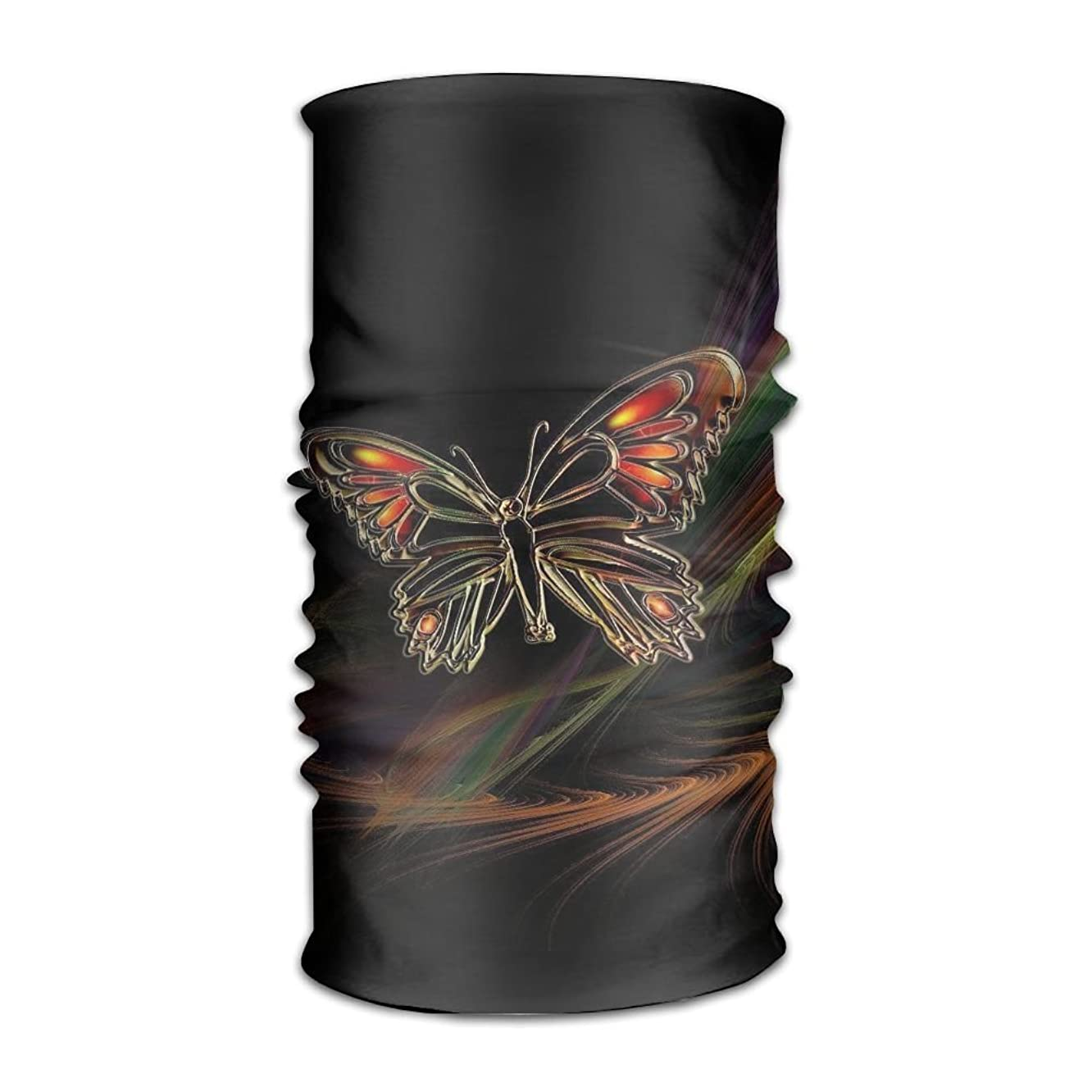 16-in-1 Multifunctional Headwear Magic Scarf Colorful Butterfly Neck Gaiter Headband Bandana For Motorcycle Running Fishing Hiking Workout Yoga Fitness Cycling Exercise