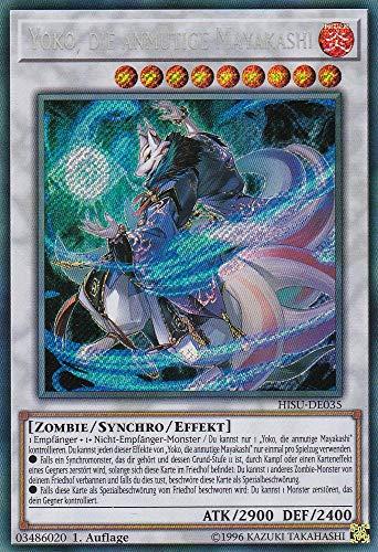 HISU-DE035 - Yoko, der anmutige Mayakashi - Secret Rare - Yu-Gi-Oh - Deutsch - 1. Auflage - LMS Trading