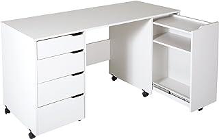 Craft Desk With Storage