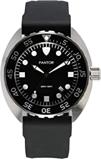 Pantor Nautilus 515 Dive Watch -200m Diver Watches for Men with Swiss Quartz Movement, 45mm Diving Watch with Rotating Bez...