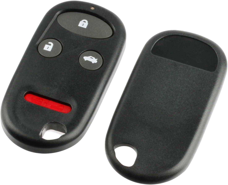 Max 87% OFF Key Fob Keyless Entry Remote Shell fits Max 76% OFF Pad Case Hon 1998-2002