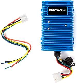 Roykaw Golf Cart Voltage Reducer Regulator Converter 36/48V to 12V for E-Z-GO Club Car (30A/360W)