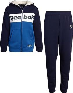T-Shirt Reebok Little Boys Jogger Set Royal Blue//White Infant//Toddler and Jogger Sweatpants Zip Hoodie