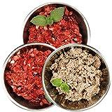 Barf-Snack gesundes Hundefutter - Sparpaket Rind-Mix-Klassik 28kg Frostfutter für Katzen, Barf-Frischfleisch