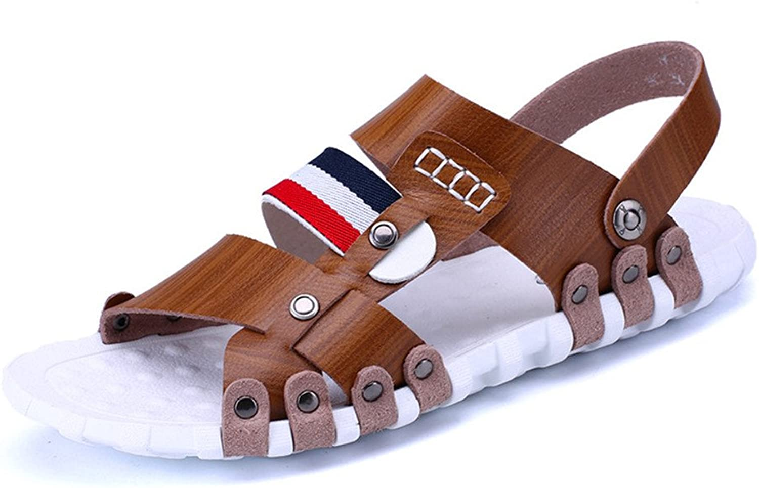 Sandals Slippery Dual-Purpose Beach shoes Hollowed and Breathable Slippers Casual shoes (24.0-27.0) cm