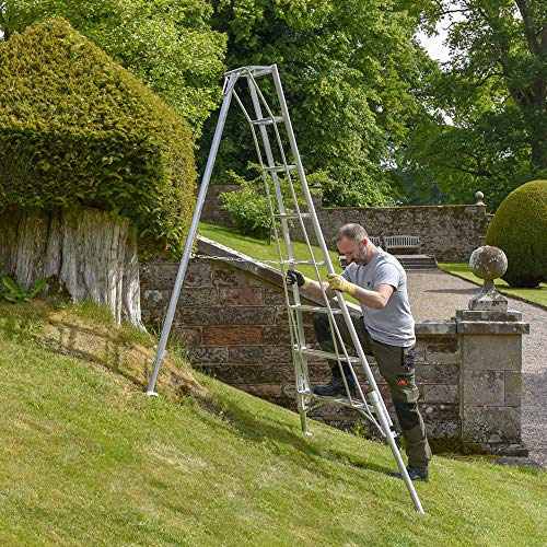 Boomgaard Drie been Verstelbare Tuinstatief ladders - 6' tot 14'