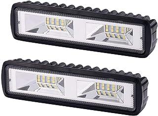 OUZHOU 2 st 12 V 18 W LED arbetslampa bar strålkastare körlampa terrängbil