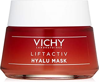 Vichy LiftActiv Hyalu Face Mask, with Natural Origin Hyaluronic Acid to Firm, Hydrate & Smooth Skin, 1.69 Fl Oz
