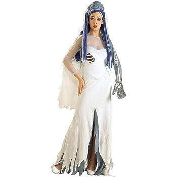 Disfraz de Halloween para mujer de la Novia Cadáver de Tim burton ...