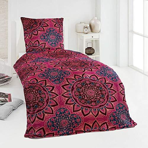 Winter Plüsch Bettwäsche Nicky-Teddy Cashmere Coral Fleece 135x200 155x220 200x200 Kissenbezug 80x80 Verschiedene Muster, Größe:200 x 200 cm, Design - Motiv:Design 2