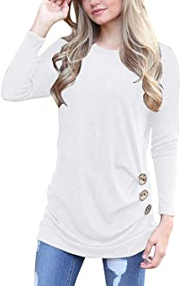Best white tunic tops Reviews