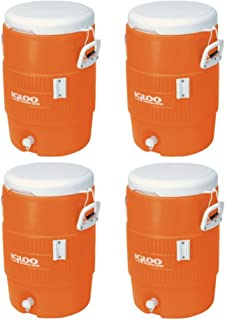 Igloo 5 Gallon Seat Top Beverage Jug with spigot - (4 Container)