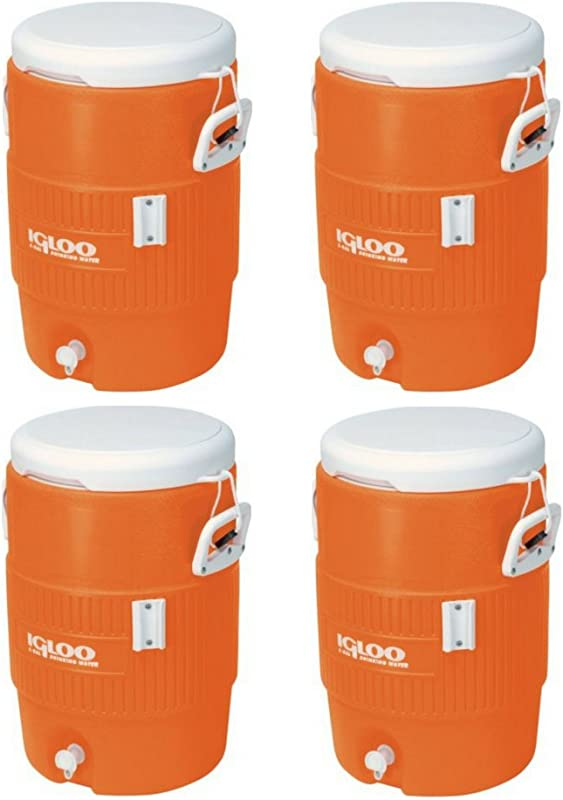 Igloo 5 Gallon Seat Top Beverage Jug With Spigot 4 Container