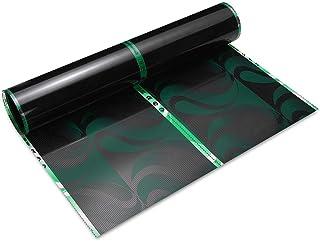 Frieed 80cm 0.5M/1M/2M/3M 220V Far Infrared Floor Heating Film Crystal Carbon Fiber Vinyl Film Underfloor Heating Durable...