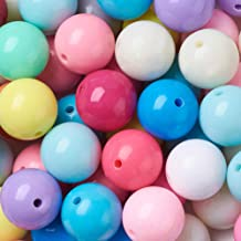 2mm Hole Small Gumball Beads 12mm 12mm Beads Opaque Acrylic Round Beads Sunny Yellow Gumball Beads 12mm Gumball Beads