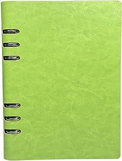 DIFLY - Cuaderno de tapa dura. De tamaño A5 de 208 x 142 mm y 80 hojas de 80 g/m²., color verde