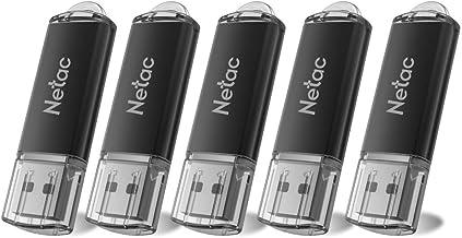 Netac Flash Drive 8GB x 5 - Flash Drive with Indicative...
