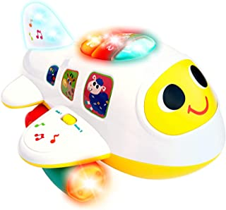 Baby Airplane Toy with Light and Music, Electronic Baby...