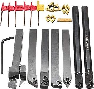 filettatura separazione Set di utensili per tornio HSS per tornitura a terra ingegneria HOBBYISTS M2 Grade gambo SQ 6 X 6 X 63 MM