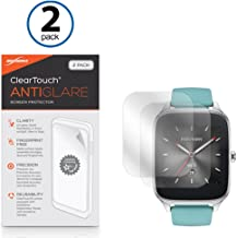 ASUS ZenWatch 2 (49mm) Screen Protector, BoxWave® [ClearTouch Anti-Glare (2-Pack)] Anti-Fingerprint Matte Film Skin for ASUS ZenWatch 2 (49mm)