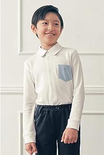 [ベルメゾン] 【子供フォーマル?男の子】長袖シャツ オフホワイト