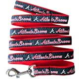 MLB ATLANTA BRAVES Dog Leash, Large