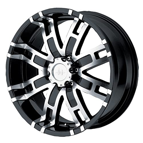 Helo HE835 Gloss Black Machined Wheel ... b96bc4c4f6