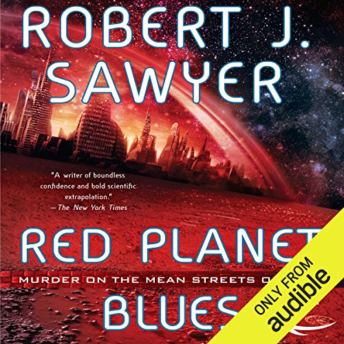 Red Planet Blues audiobook cover art