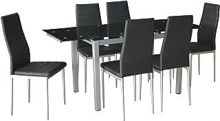 Amazon Fr Table Manger Rallonge Verre
