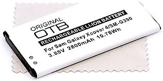 Batterie de rechange pour Samsung Galaxy Xcover 4, Galaxy Xcover 4S (remplace la batterie d'origine EB-BG390BBE) SANS NFC ...