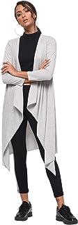 Rane Women's Grey Long SleeveWATERFALL Shrug